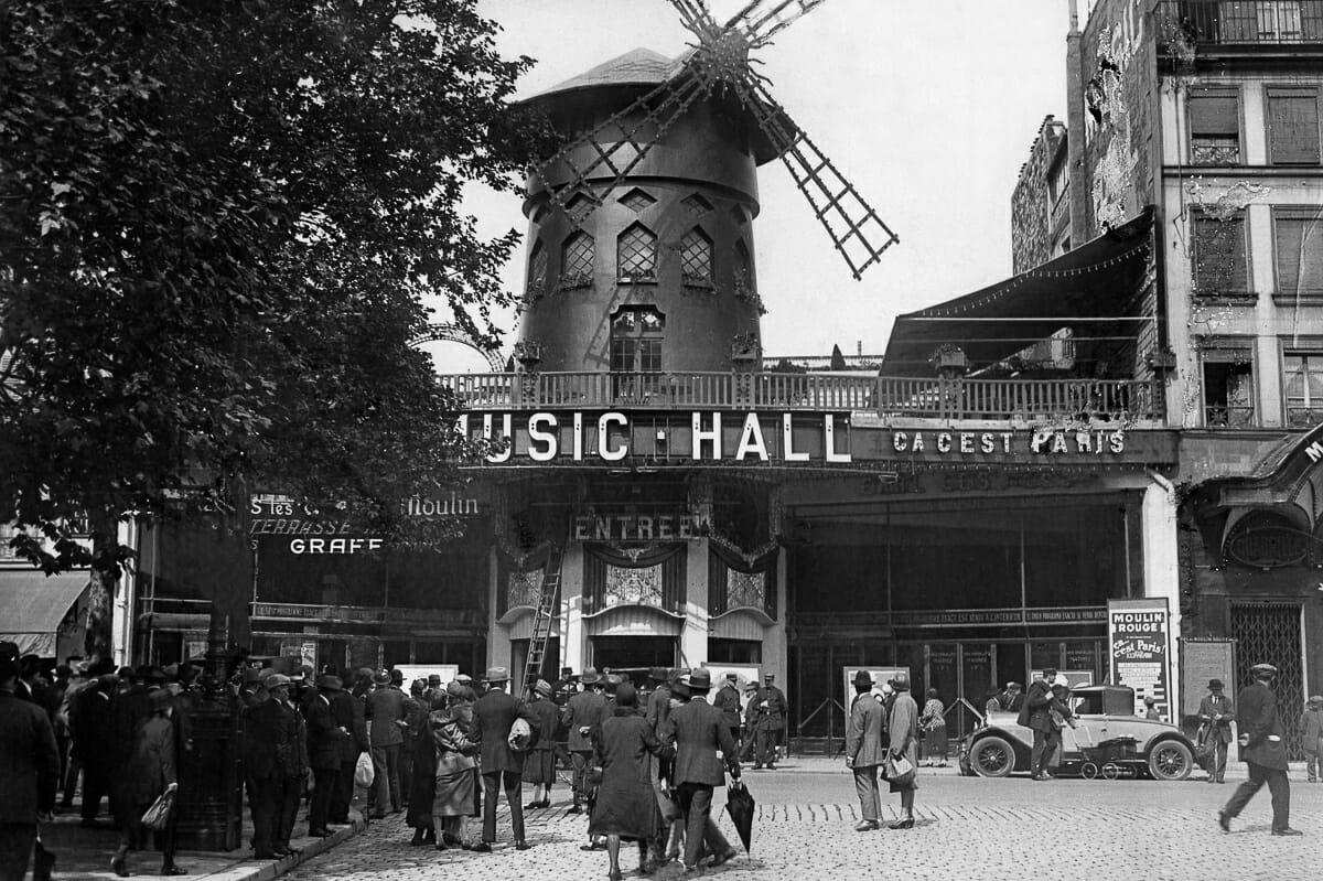 Fotografias raras do cabare Moulin Rouge 1