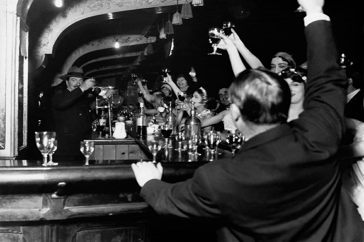 Fotografias raras do cabare Moulin Rouge 10