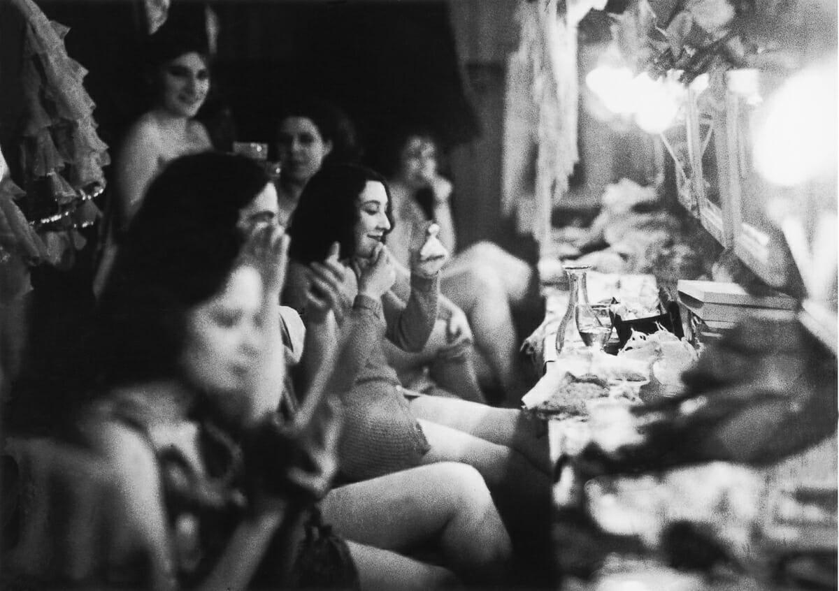 Fotografias raras do cabare Moulin Rouge 11