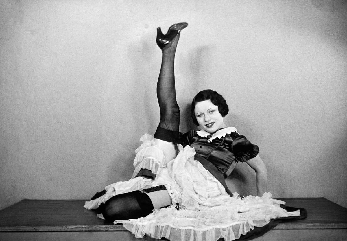 Fotografias raras do cabare Moulin Rouge 12
