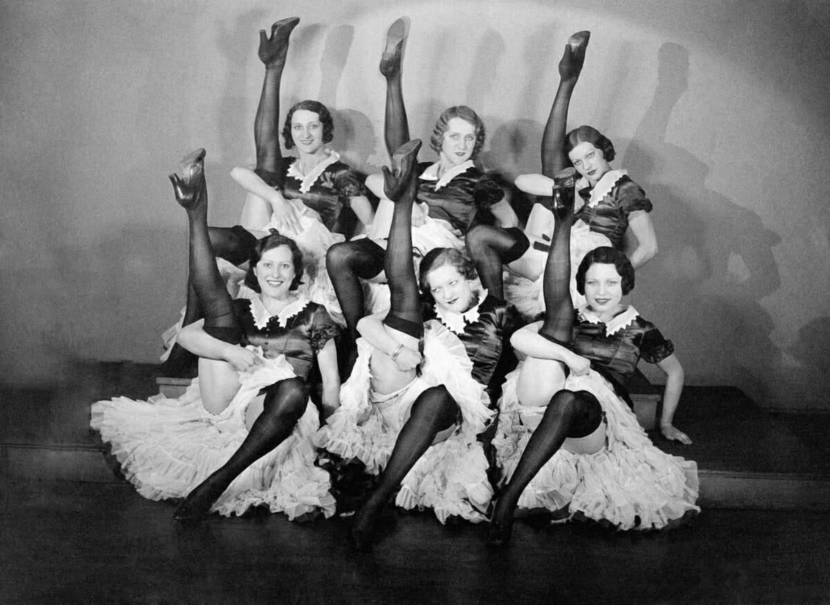 Fotografias raras do cabare Moulin Rouge 14