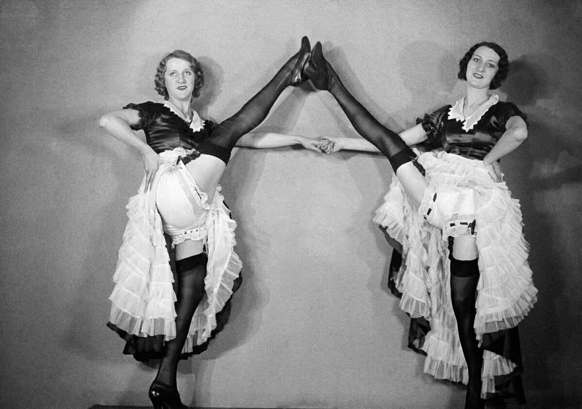 Fotografias raras do cabare Moulin Rouge 15
