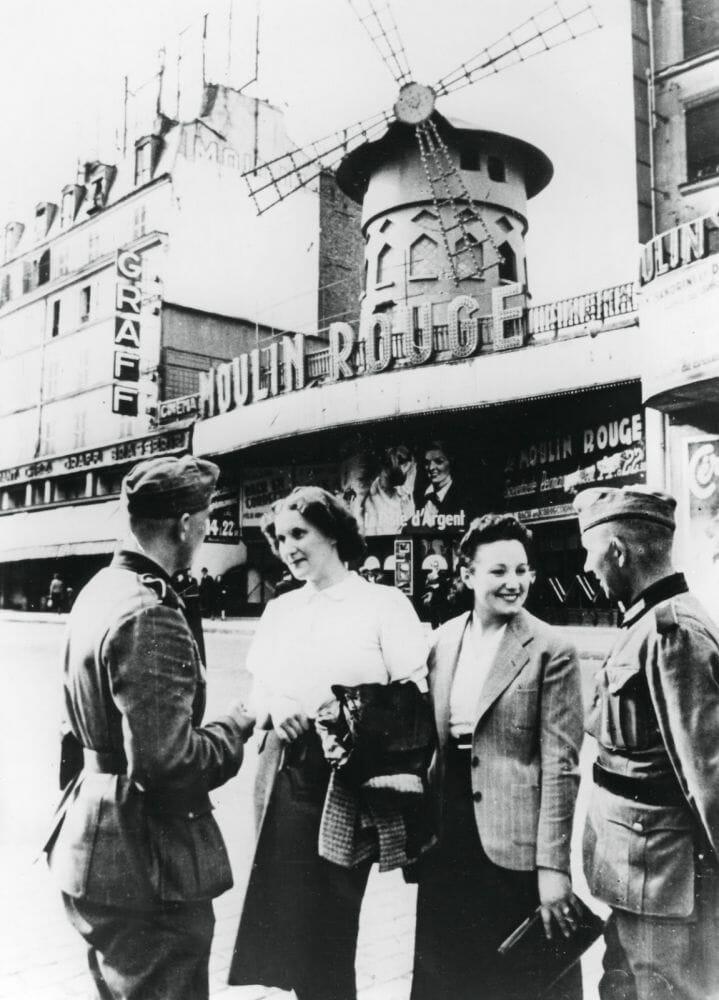 Fotografias raras do cabare Moulin Rouge 17