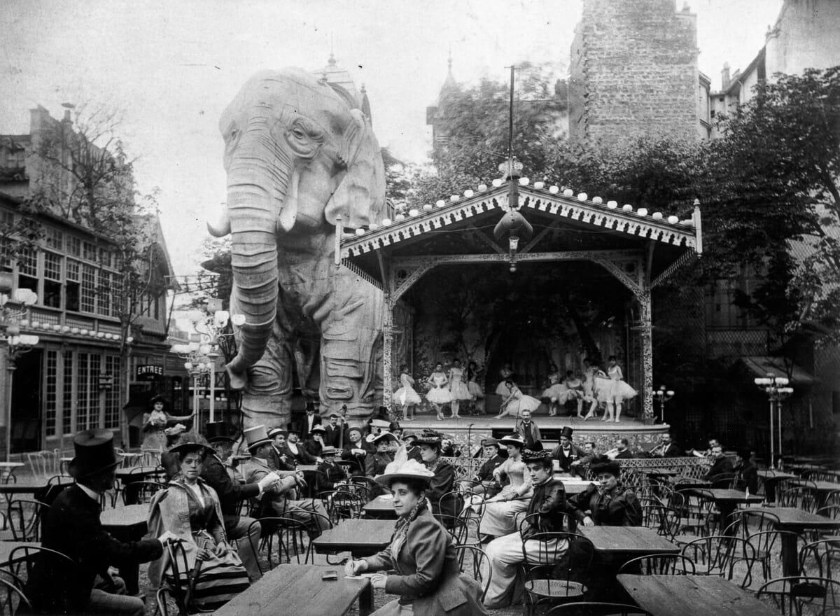 Fotografias raras do cabare Moulin Rouge 2