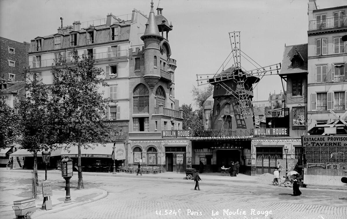 Fotografias raras do cabare Moulin Rouge 5