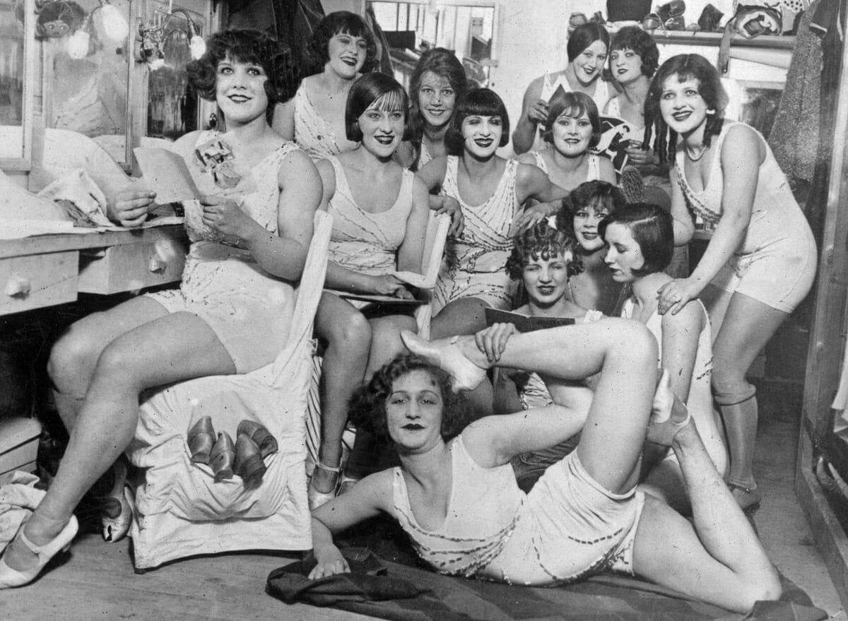 Fotografias raras do cabare Moulin Rouge 7