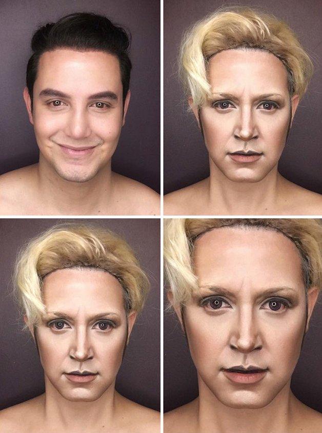 Paolo Ballesteros personagens de Game Of Thrones com maquiagem 3
