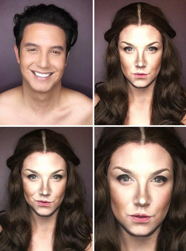 Paolo Ballesteros personagens de Game Of Thrones com maquiagem 6