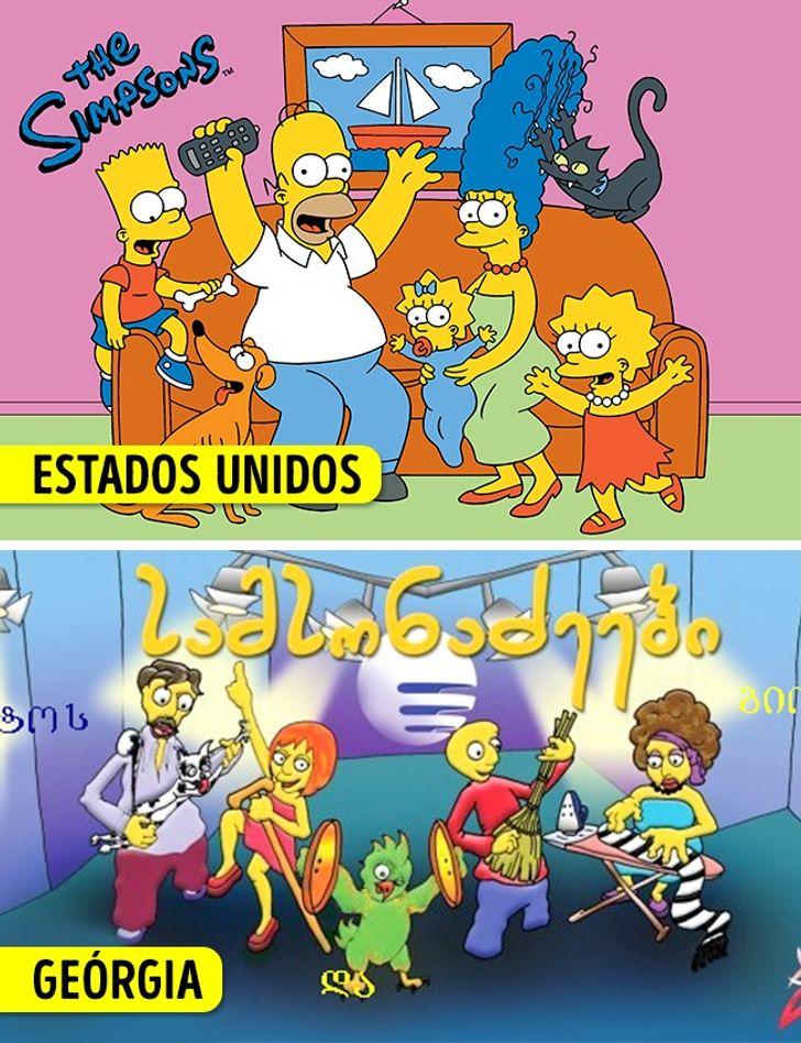 Parodias de desenhos animados releituras de Os Simpsons O Rei Leao e Scooby Doo 1