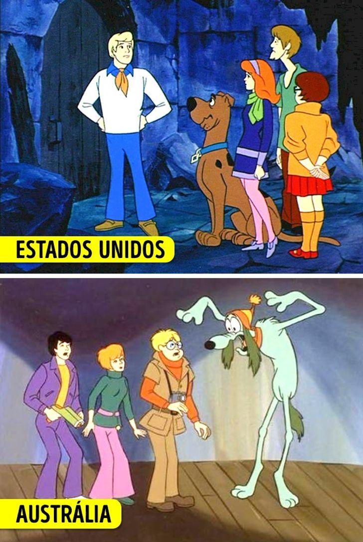 Parodias de desenhos animados releituras de Os Simpsons O Rei Leao e Scooby Doo 9