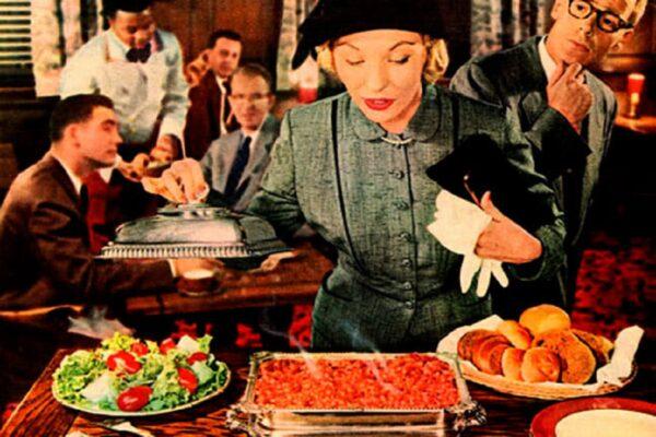 Propagandas de comida dos anos 50 50