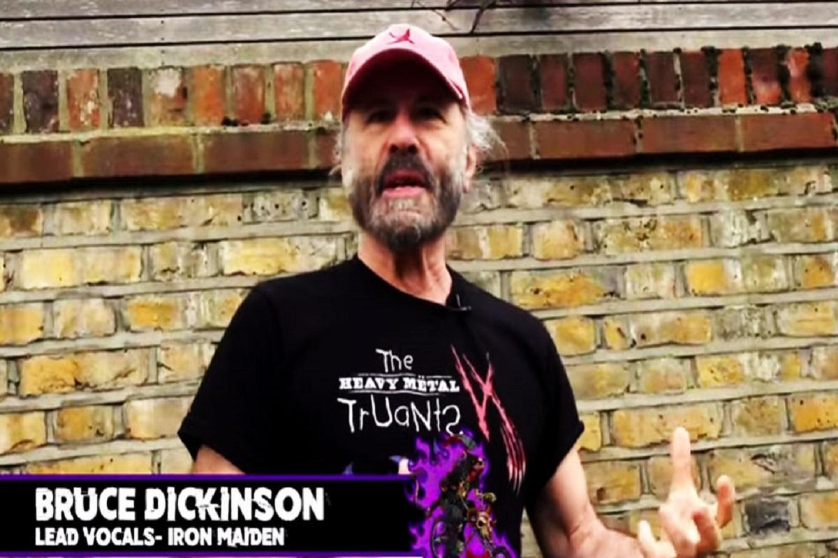 Bruce Dickinson ajuda o Heavy Metal Truants arrecadar mais de 7 milhoes de reais para caridade 1