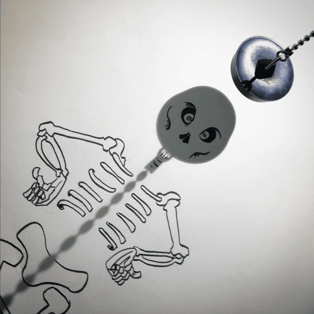 Vincent Bal artista cria ilustracoes com sombras de objetos do cotidiano 13