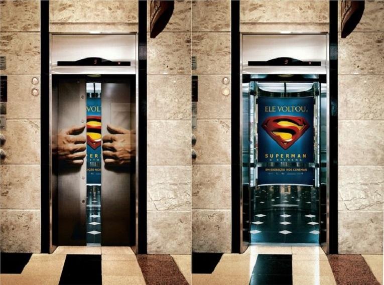 Criativos anuncios em elevadores 3
