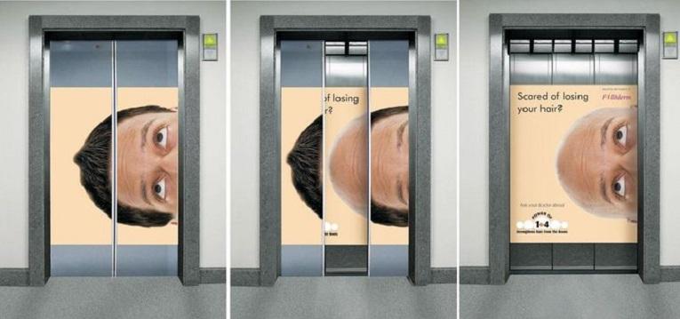 Criativos anuncios em elevadores 4