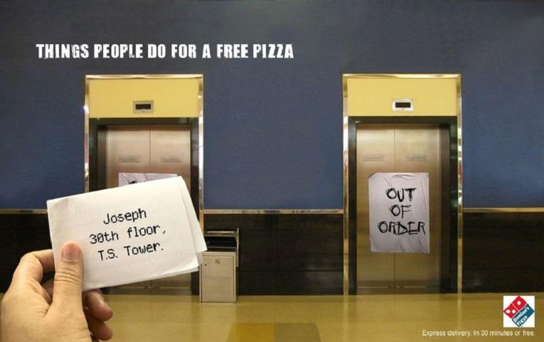 Criativos anuncios em elevadores 5