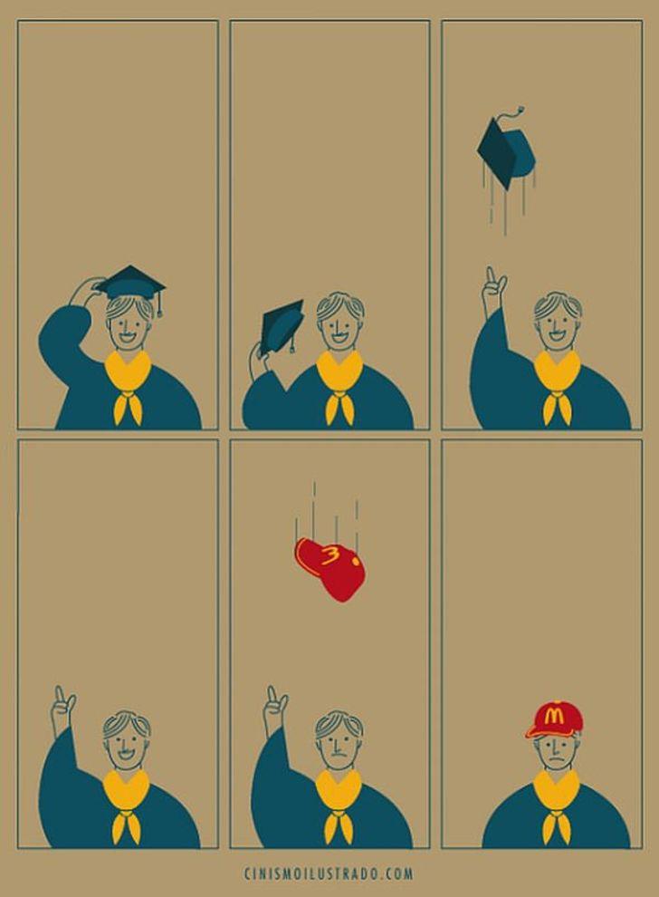 Eduardo Salles artista denuncia sociedade em ilustracoes 1