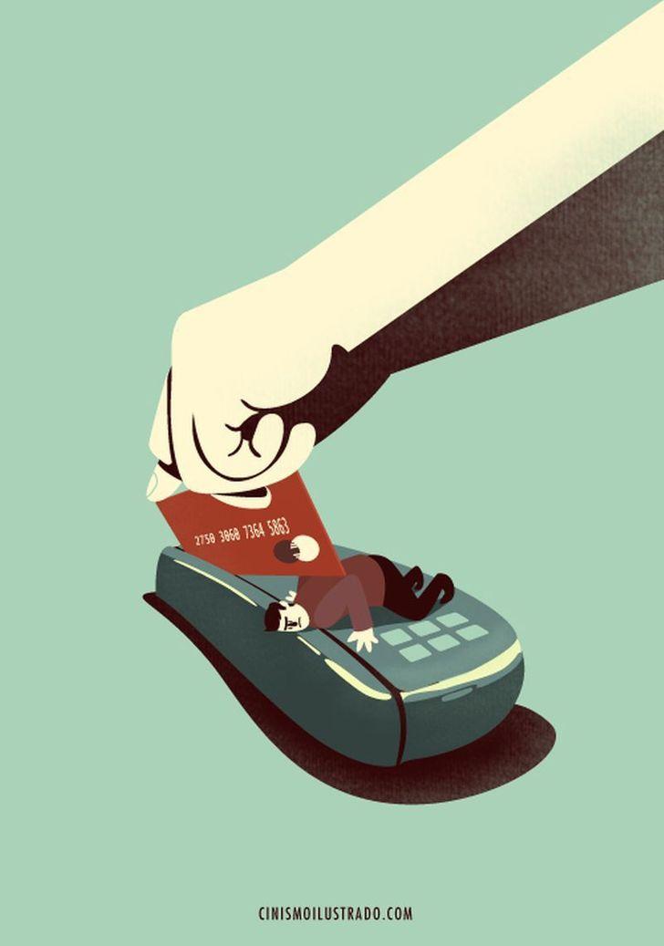 Eduardo Salles artista denuncia sociedade em ilustracoes 11