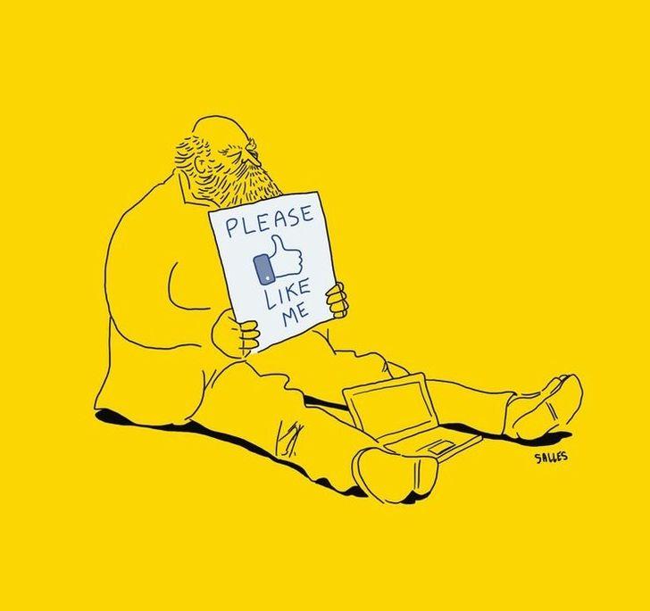 Eduardo Salles artista denuncia sociedade em ilustracoes 6