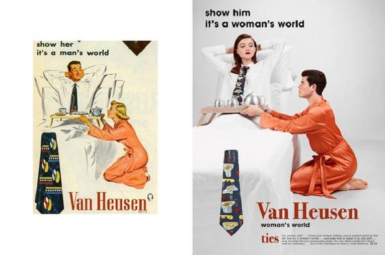 Eli Rezkallah fotografo recria propagandas machistas dos anos 50 1