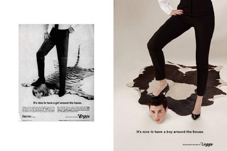Eli Rezkallah fotografo recria propagandas machistas dos anos 50 5
