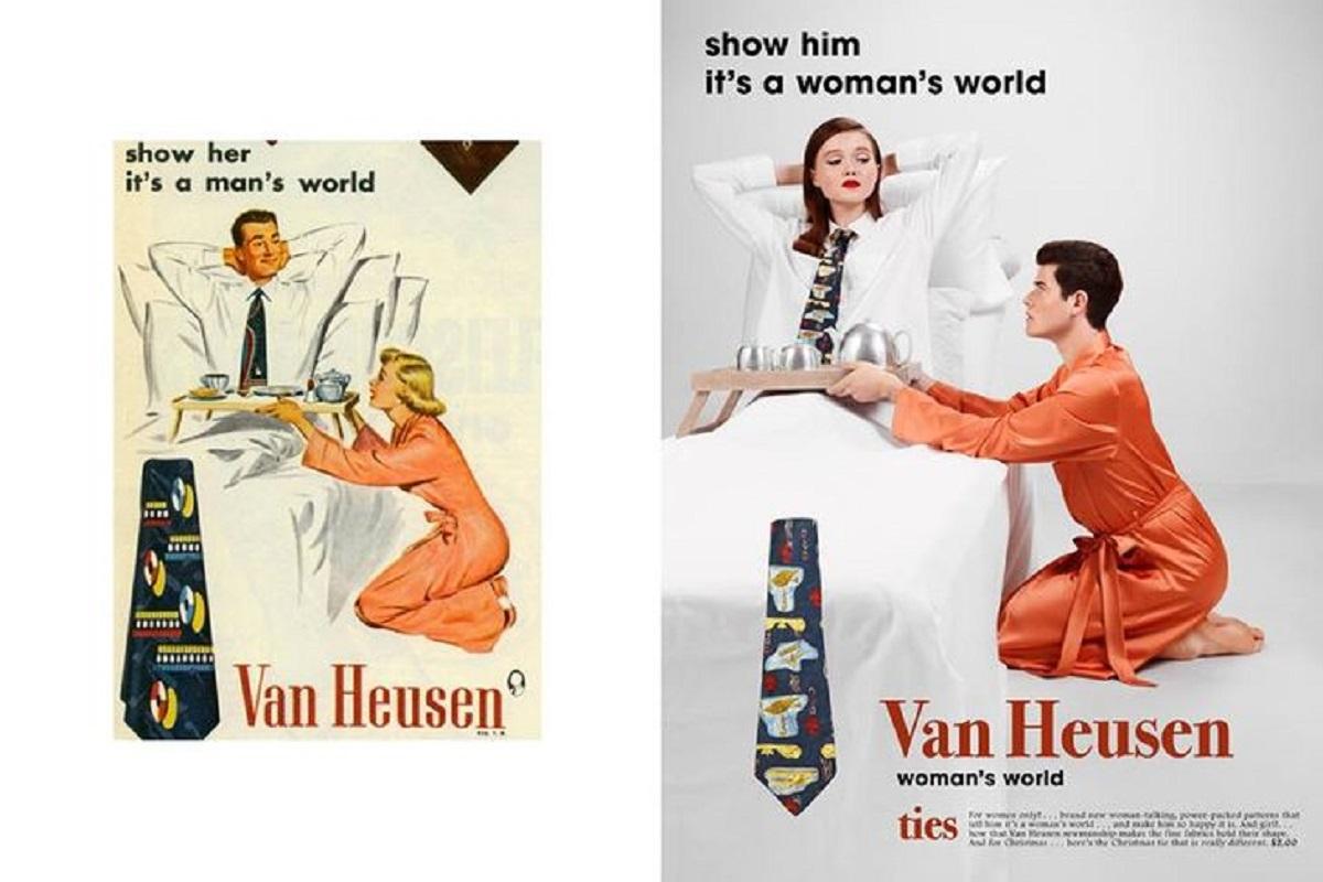 Eli Rezkallah fotografo recria propagandas machistas dos anos 50 capa