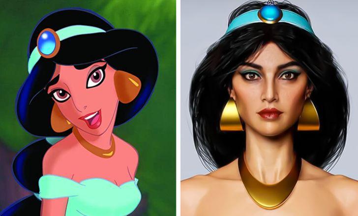 Hossein Diba artista cria versao real de personagens de desenho 6