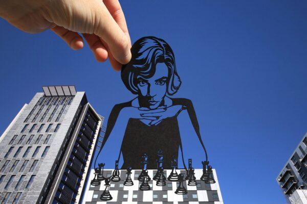 Paperboyo artista cria cenas divertidas com recortes de papel em arquitetura 50