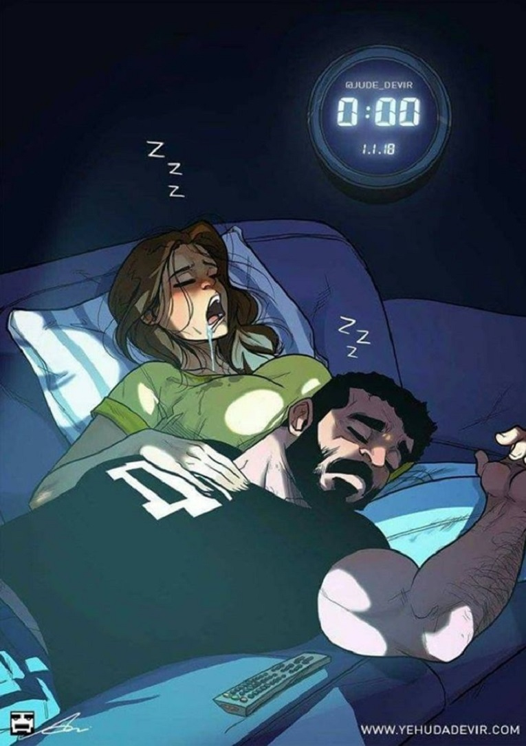 Yehuda Devir artista cria ilustracoes sobre relacionamento a dois 4