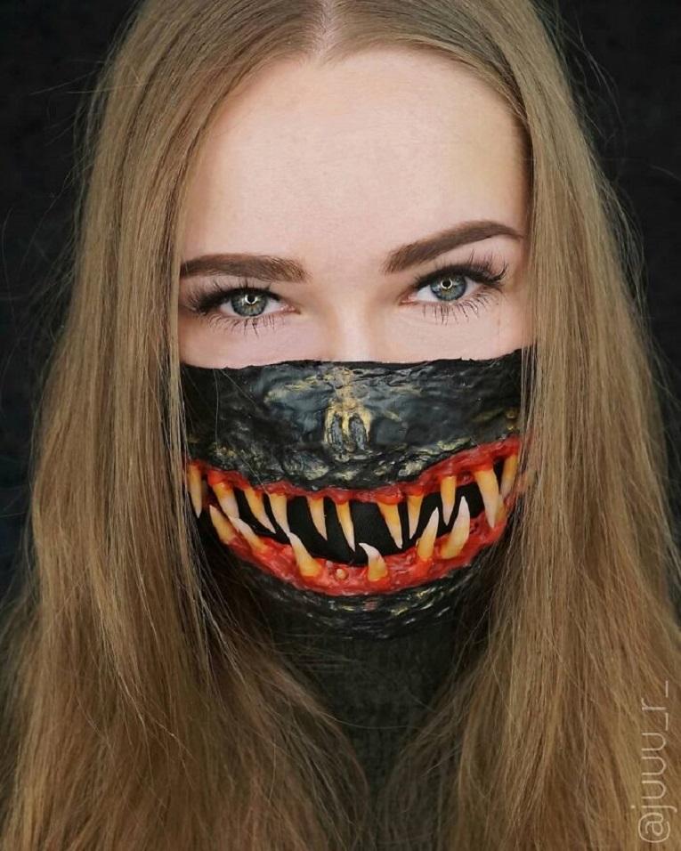 As melhores mascaras de Halloween 17