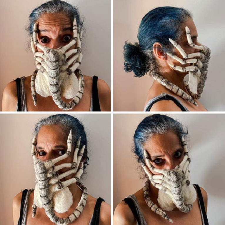 As melhores mascaras de Halloween 4
