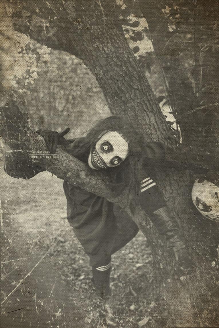 Fotos vintage de Halloween bastante perturbadoras 1