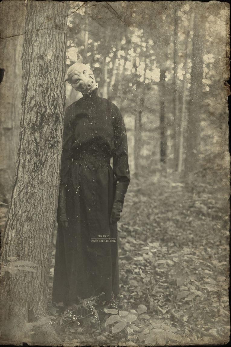 Fotos vintage de Halloween bastante perturbadoras 10