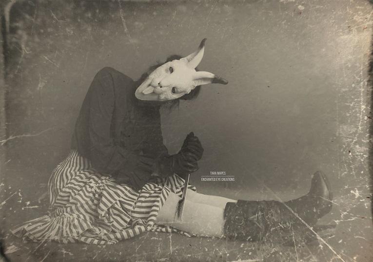 Fotos vintage de Halloween bastante perturbadoras 12