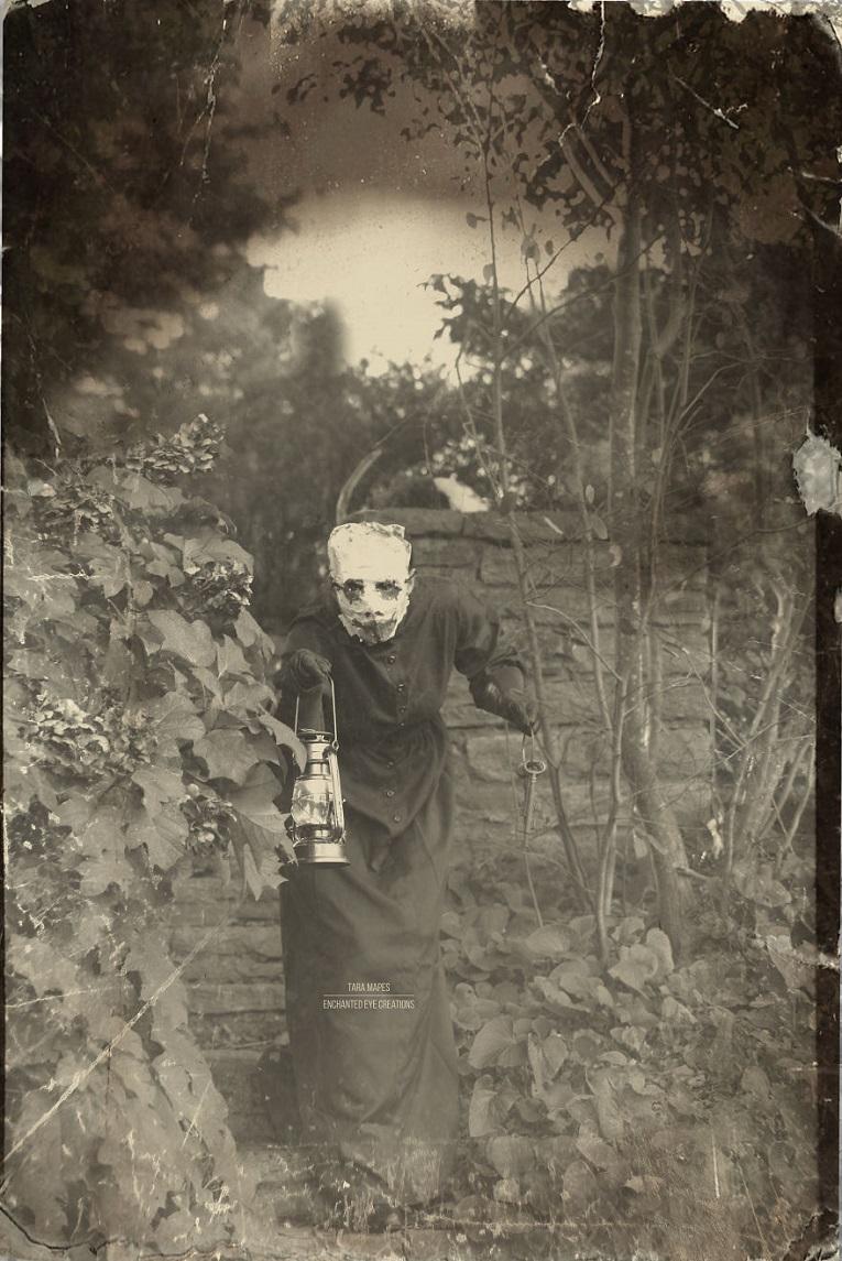 Fotos vintage de Halloween bastante perturbadoras 15