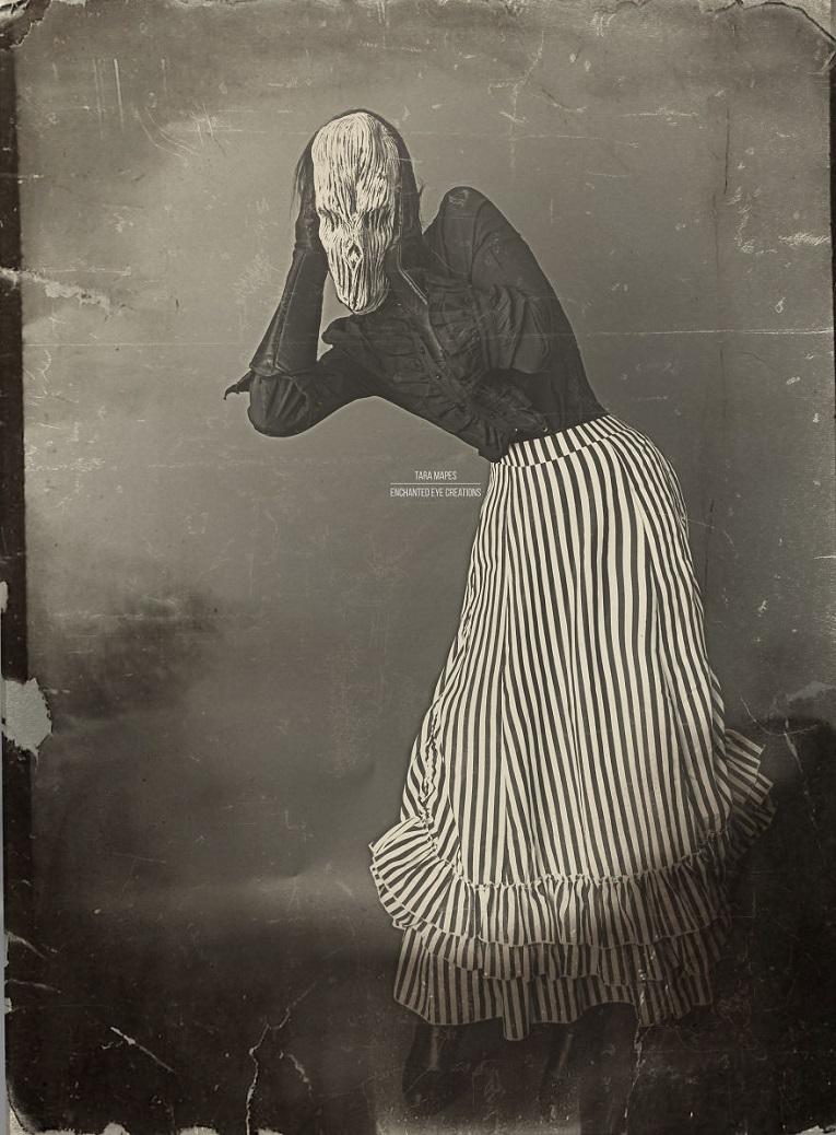 Fotos vintage de Halloween bastante perturbadoras 16