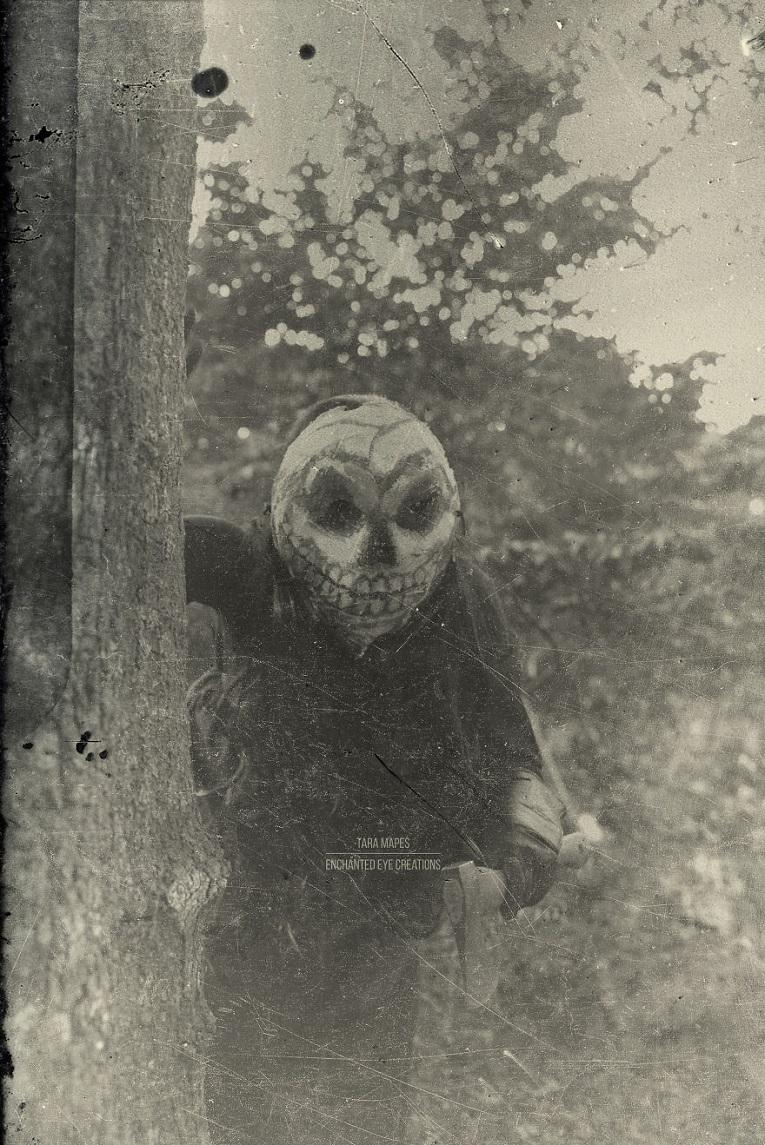 Fotos vintage de Halloween bastante perturbadoras 18