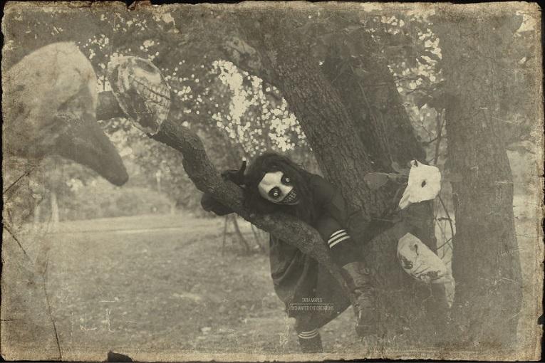 Fotos vintage de Halloween bastante perturbadoras 2
