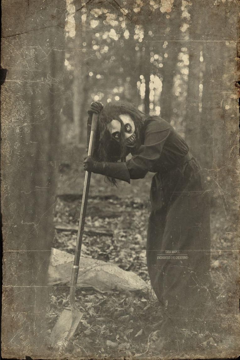 Fotos vintage de Halloween bastante perturbadoras 3