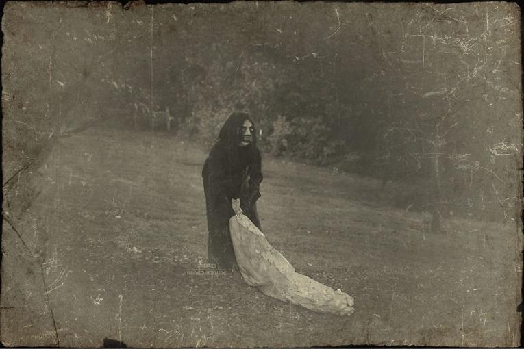 Fotos vintage de Halloween bastante perturbadoras 4