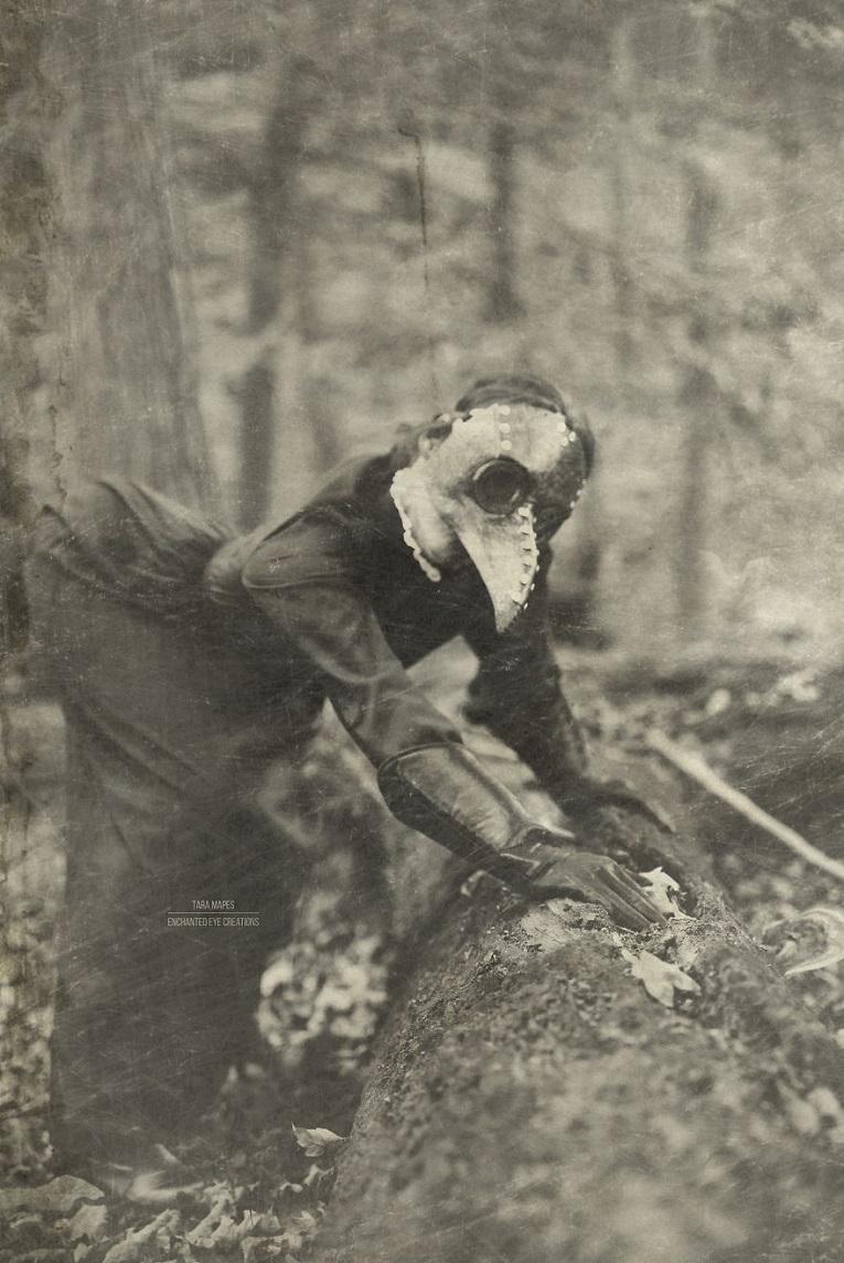 Fotos vintage de Halloween bastante perturbadoras 6