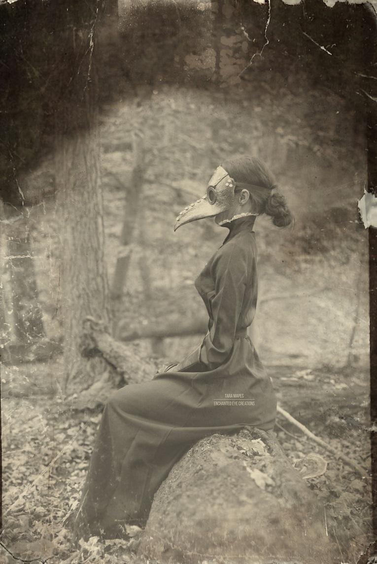 Fotos vintage de Halloween bastante perturbadoras 7