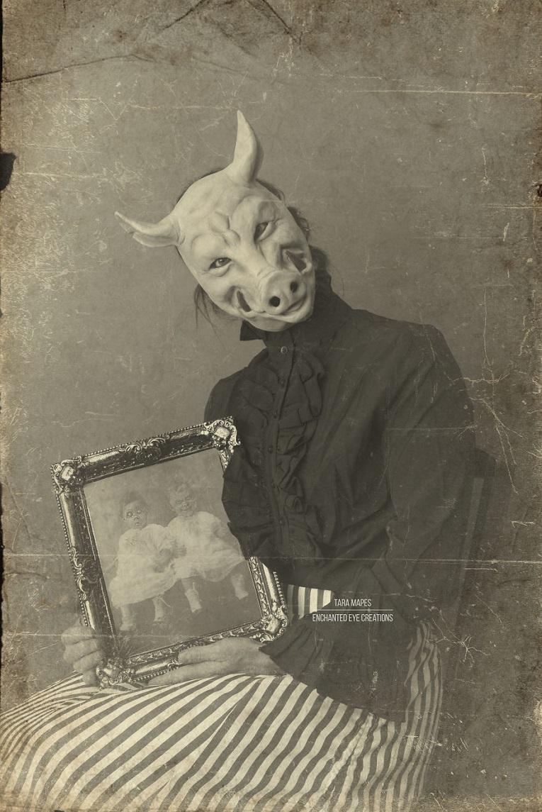 Fotos vintage de Halloween bastante perturbadoras 8
