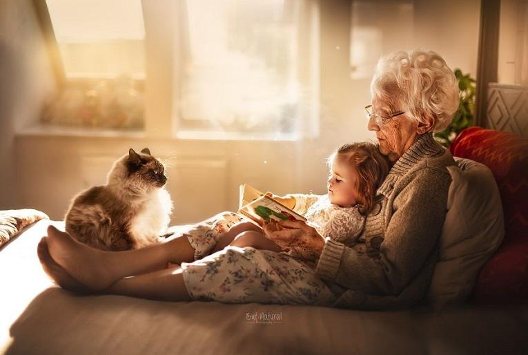 Sujata Setia fotografa britanica registra a beleza da relacao entre avos e netos 1