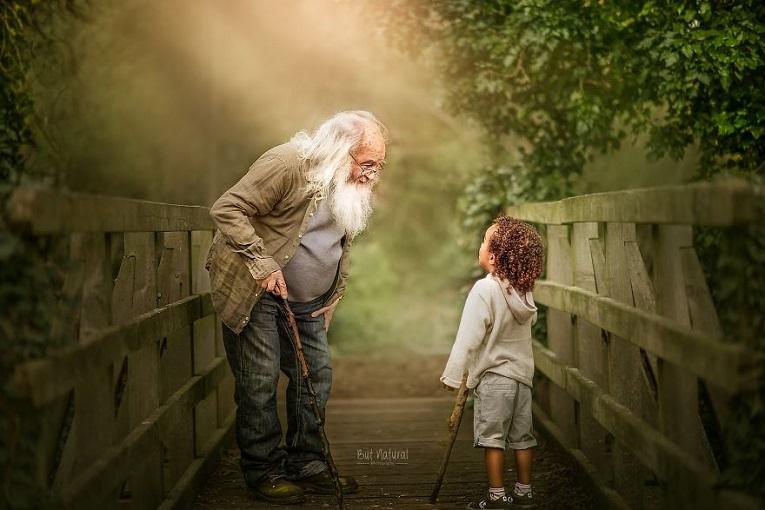 Sujata Setia fotografa britanica registra a beleza da relacao entre avos e netos 11