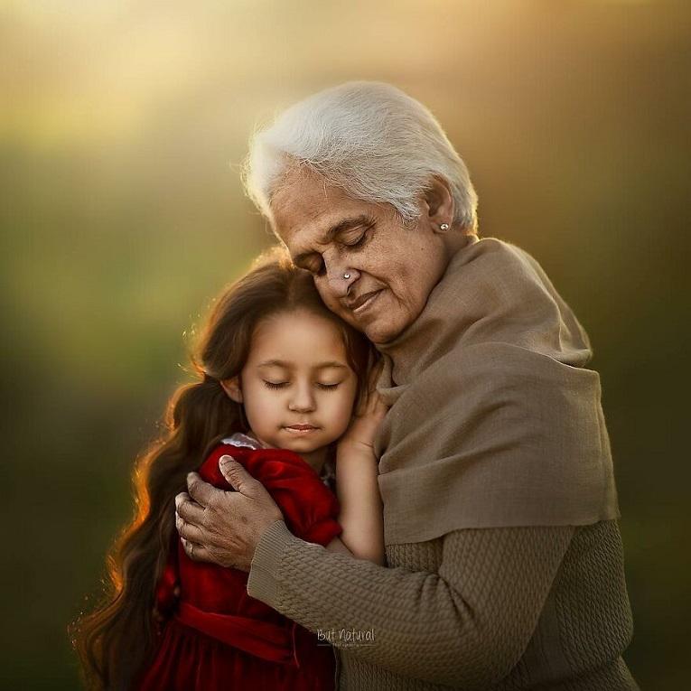 Sujata Setia fotografa britanica registra a beleza da relacao entre avos e netos 12