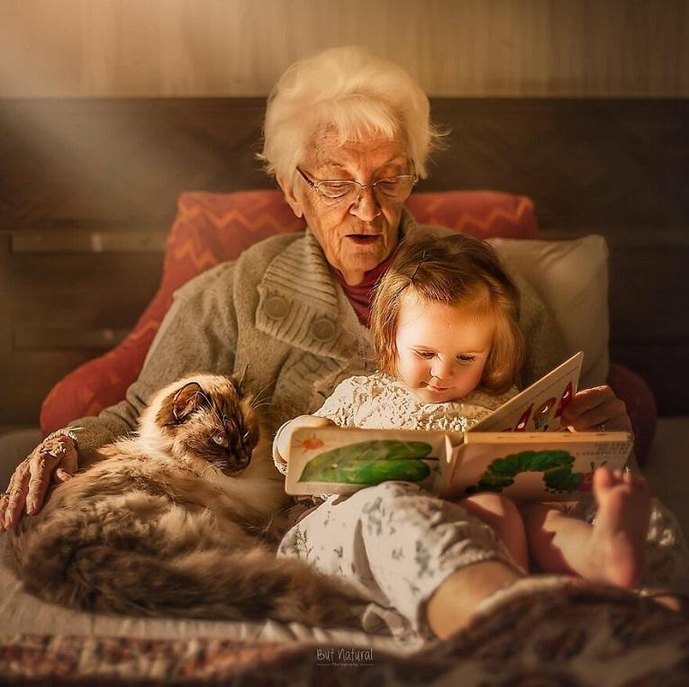Sujata Setia fotografa britanica registra a beleza da relacao entre avos e netos 13