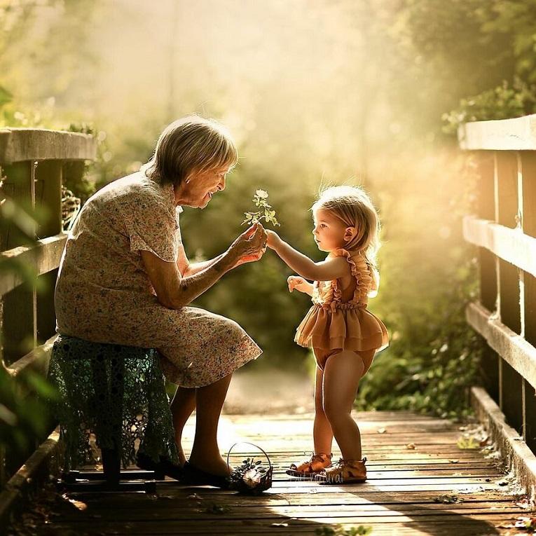 Sujata Setia fotografa britanica registra a beleza da relacao entre avos e netos 18