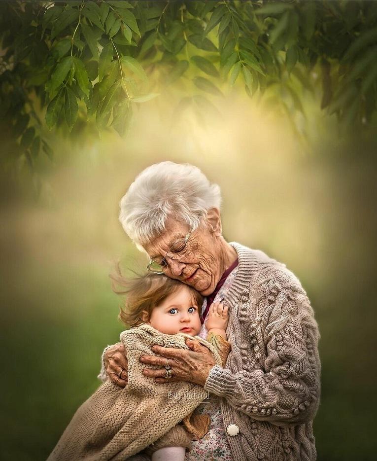 Sujata Setia fotografa britanica registra a beleza da relacao entre avos e netos 19