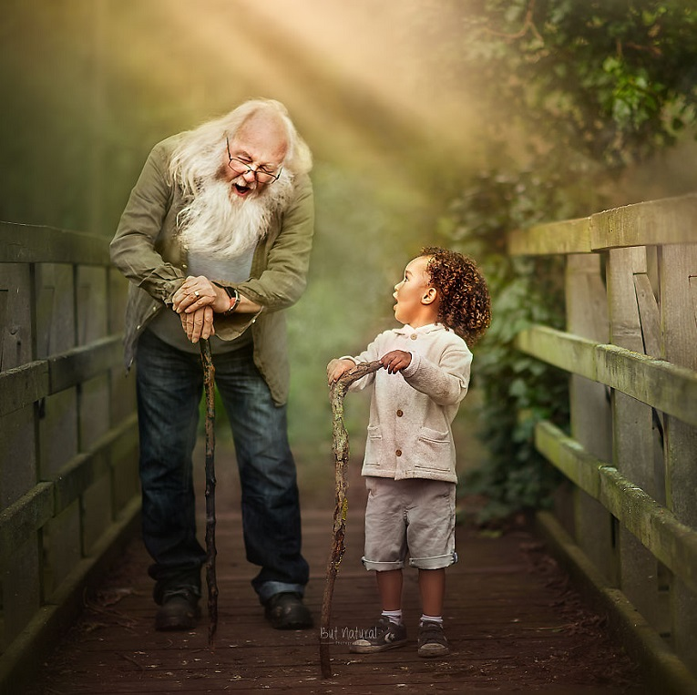 Sujata Setia fotografa britanica registra a beleza da relacao entre avos e netos 2
